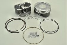 Piston Set of(4) in +.020 Over- Fits Subaru 2.5 DOHC Legacy - Forester & Impreza