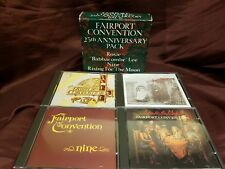 FAIRPORT CONVENTION 25th ANNIVERSARY PACK (4cd box set) CDs like new!