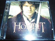 The Hobbit An Unexpected Journey Original Soundtrack (Australia) 2 CD - NEW