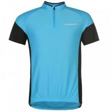 Muddy Fox Mens Top Blue And Black Size Small UK