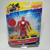 DC Justice League Action THE FLASH 4.5 inch POWER CONNECTS Action Figure - NEW