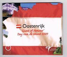 OOSTENRIJK 2009 DAG VAN DE MUNT GUEST OF HONOUR EURO 8-COINSET BU BLISTER