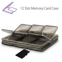 Foldable 12 SIM/Micro SD/TF/MMC  Memory Card Storage Case Box Holder Protector