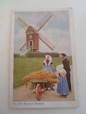 Vintage Postcard OP ZUID BEVELAND (ZEELAND) Netherlands   §R8