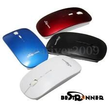 BESTRUNNER Slim Bluetooth 3.0 Wireless Optical Mouse Mice For Computer Laptop PC