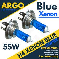 H4 Xenon 55w Blue Fits Transit Mk7 07-12 Halogen Headlight Headlamp Light Bulbs