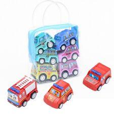 6 Pack Toddlers Boy Fireman Truck Car/ Construction car/City Car Models Toy Set