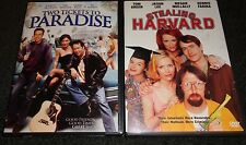 TWO TICKETS TO PARADISE & STEALING HARVARD-2 movies-JOHN C McGINLEY, TOM GREEN
