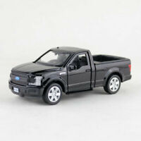 1:36 Ford F-150 Pickup Truck Model Car Alloy Diecast Toy Pull Back Black Gift
