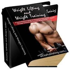 Weight Lifting & Weight Training Ebook On CD $5.95 + Resale Rights Free Shipping