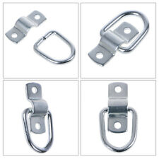 2 x Lashing Ring /& Shaped Cleat Rope Tie Down for Trailers /& Horsebox     #4574