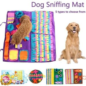 Pet Dog Sniffing Mat Find Food Snuffle Training Pad Play Toys For Relieve Stress