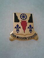 Authentic US Army 167th Supply & Service Battalion Unit DI DUI Insignia B-23