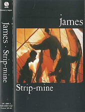 JAMES STRIP MINE CASSETTE ALBUM BLANCO Y NEGRO / SIRE Reissue  Indie Rock