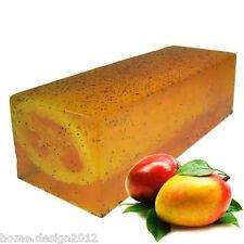 Handgemachte Seife Mango mit Luffa 100 g, Peeling, GRATIS* LUFFA-Schwamm