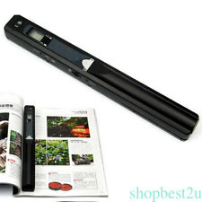 Handheld 900 DPI Scanner Document Photo Book A4 Scan to PDF JPG LCD Display New