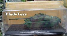 Altaya 1:72 Challenger Tanque de Batalla Principal Gb Continente Division 1984