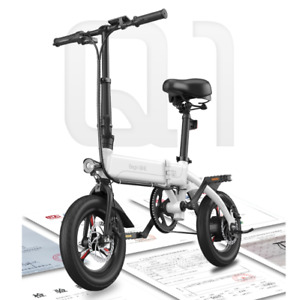 Pro BeginOne® Adult Mini Folding Electric Bike E-BIKE 25km/h 36V 12.8AH