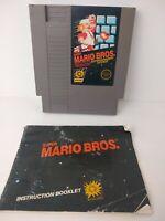 Super Mario Bros. 1 Nintendo Nes Cleaned & Tested Authentic