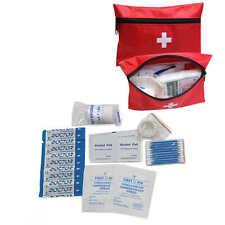 24pcs/set Travel First Aid Kit Emergency Home Camping Bag Bike Car Work Sports