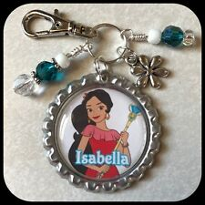 ELENA of AVALOR Personalized Bottle Cap Name Necklace Jewelry Zipper Pull ID Tag