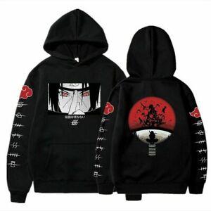 Uchiha Itachi Hoodie Naruto Anime Men Women Sweatshirt Cosplay Black JacketCool