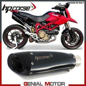 Terminale Scarico Hp Corse Evoxtreme 310 Blk Ducati Hypermotard 1100 2007 > 2012