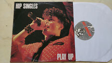 HIP SINGLES Play Up *ORIGINAL AUSTRALIAN NEW WAVE 80s LP*