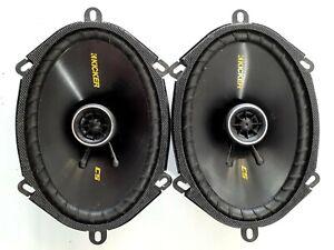 Kicker Cs Series 6x8 Inch Coaxial Speakers Cs68