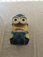 Large Minions Despicable Me drink bottle Universal Studios 21cm high