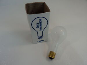 Philips 300 Watt Frost Incandescent Lamp Frost 750 Hours PS35 Series 5F-PS35-M