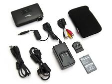 Optoma Pico PK301 DLP Mini Pocket Portable Projector w/ Accessory Bundle NEW