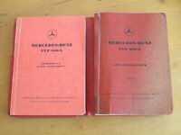 Ersatzteilliste Mercedes W 186   300 b Adenauer   Ersatzteilkatalog - 1954