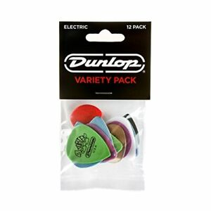 DUNLOP PICK VARIETY PACK, 12PC PLAYER PACK, ELECTRIC