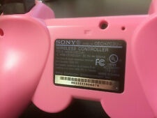 RARE Pink OFFICIAL & GENUINE Sony PS3 Controller Dualshock 3 Sixaxis PlayStation