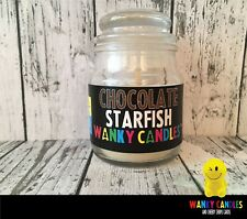 WANKY CANDLES Rude/ Funny/ Offensive/  Novelty gift   -  Chocolate Starfish