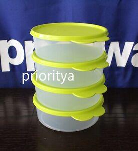 Tupperware Big Wonders Bowl 3 cup / 700ml Set 4 Lime Green Seal New in Package
