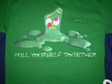 Gumby Pull Yourself Together T Shirt Adult X-Large Original New Without Tags XL