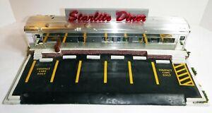 K-Line Operating Starlite Diner for Parts or Restoration: Lights Work
