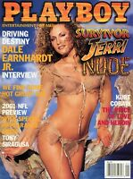 PLAYBOY SEPTEMBER 2001 Dalene Kurtis Jeri Manthey Dale Earnhard Jr Stanley Tucci