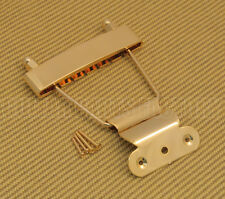 TP-ETS-G Gold Short Trapeze Tailpiece For Thin Hollowbody And Solid Guitars