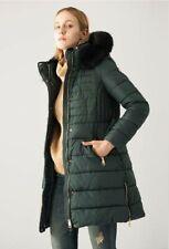 PIUMINO DONNA MYDRESS 1213 Giaccone con cappuccio e pelliccia, giacca cappotto