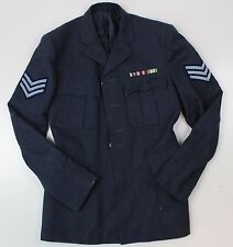 """RAF ROYAL AIR FORCE NO1 DRESS JACKET with BADGES 36"""" CHEST"""