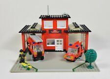 6382 Fire Station. Complete Vintage Lego Set from 1981.