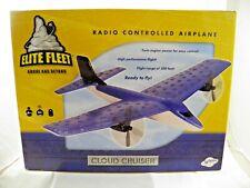 "Elite Fleet Radio Controlled Airplane ""Cloud Cruiser"" NIB NICE"