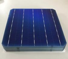 10pcs 156mm x 156mm Monocrystalline Solar Cells Panel Kit Photovoltaic Cells
