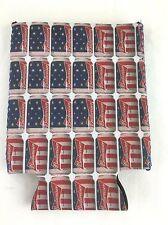 Budweiser Can Coozie Patriotic American Flag Beer Cooler Patriotic Americana