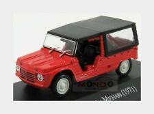 Citroen Mehari 1971 Red Black EDICOLA 1:43 ARG032