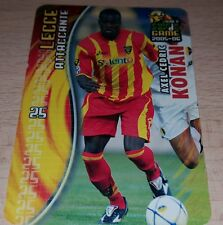 CARD CALCIATORI PANINI 2005-06 LECCE KONAN CALCIO FOOTBALL SOCCER ALBUM