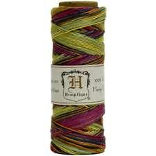 Hemp Variegated Cord Spool 10lb 205' Rainbow 091037093929